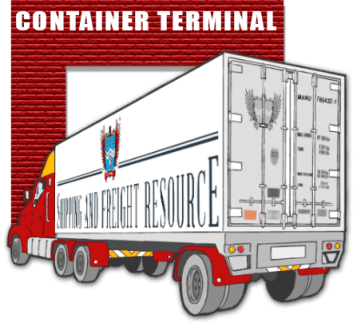 image for truck at terminal
