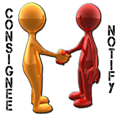 Image for consignee and notify
