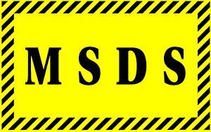 image for MSDS