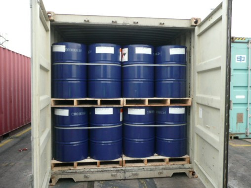 DG cargo in drums packed in container - http://www.marine-surveying.co.uk/containerised-cargo-survey