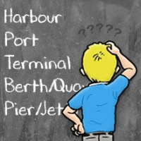 Harbour, Port, Terminal, Berth, Quay, Pier, Jetty - Shipping and Freight Resource
