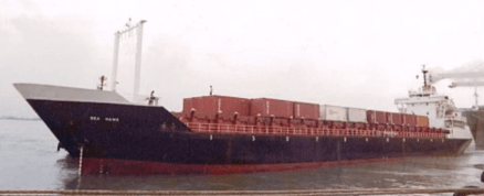 First Container vessel of PIL