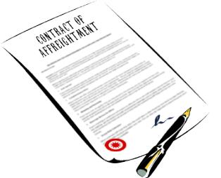 Contract of Affreightment - bulk and break bulk