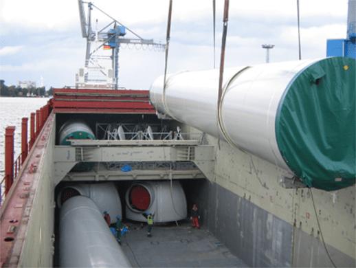 tween deck - break bulk vessel - bulk and break bulk