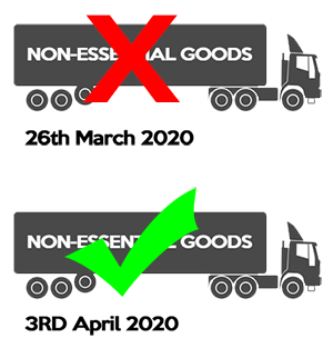 transnet non-essential goods - shipping and freight resource