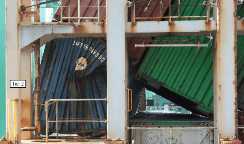 container lashing - shipping and freight resource