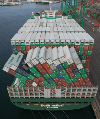 lashing of container - shipping and freight resource