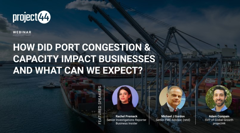 port congestion and capacity webinar - shipping and freight resource