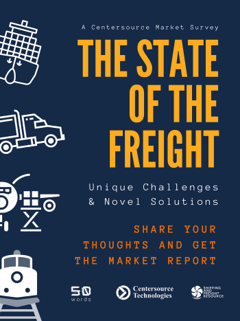 the state of the freight - research report - shipping and freight resource - centersource