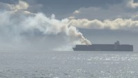 zim kingston on fire containers falling off at sea - shipping and freight resource