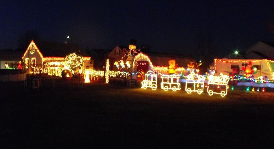 Christmas Light Display York Pa