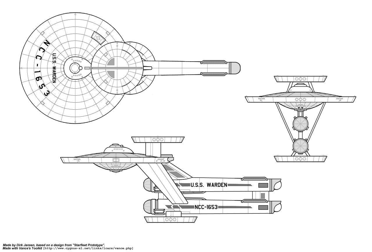 First Order Star Destroyer Schematics