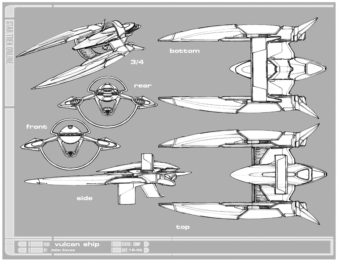 Enterprise D Schematics