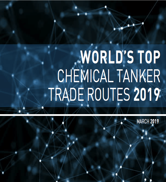 World's Top Chemical Tanker Trade Routes 2019 - Shipsfocus