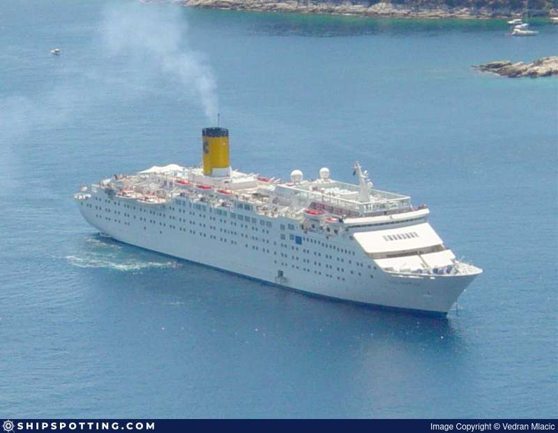 Tropicale Cruise Ship