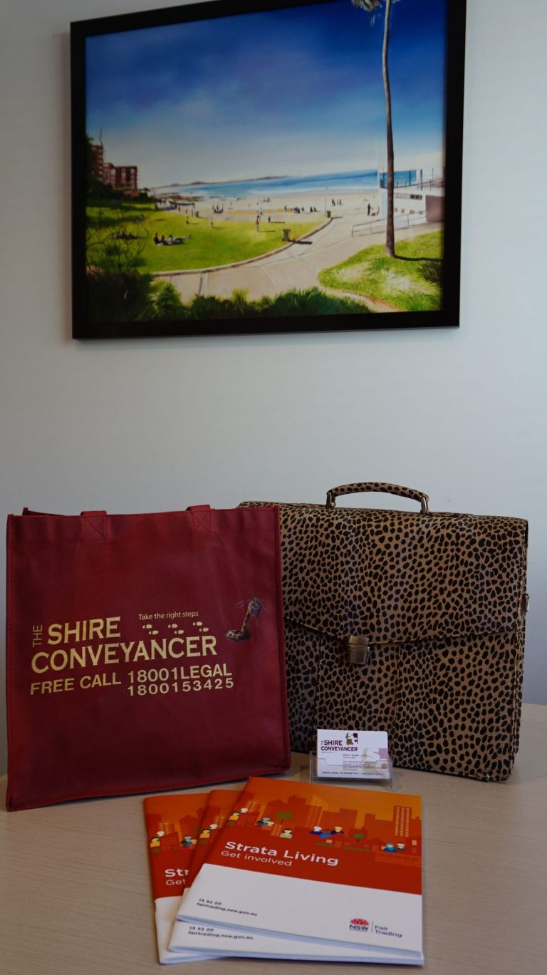Shire Conveyancer Bag And Pen