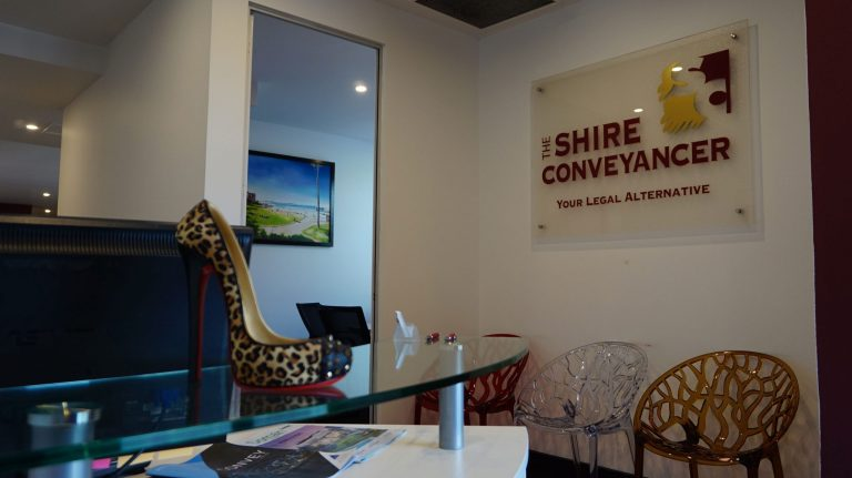 The Shire Conveyancer Receptions
