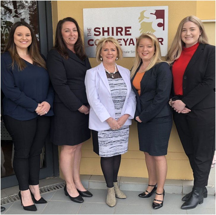 The Shire conveyancer Team