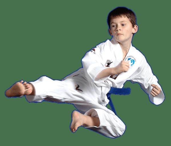 SMA Kid flying kick
