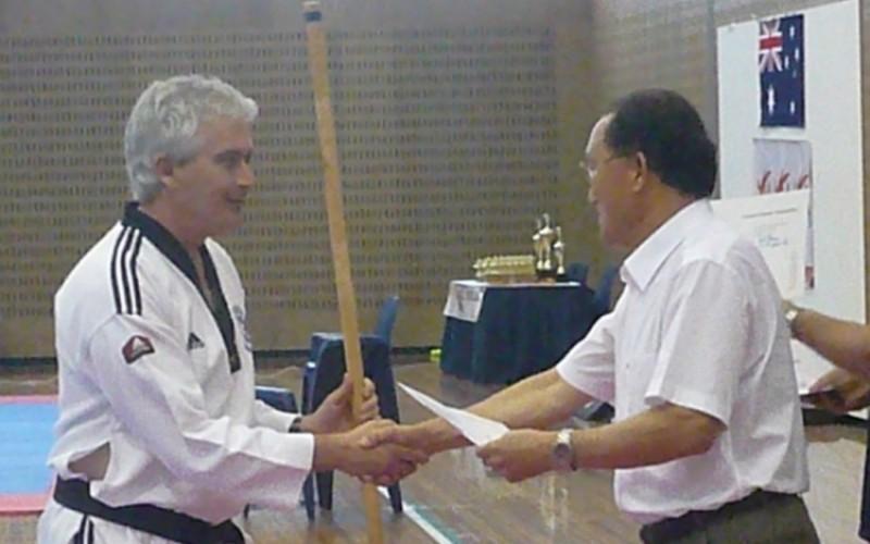 Gwangjangnim Gary & Grand Master Cho