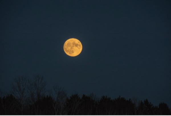 Super moon by Rebecca Breems
