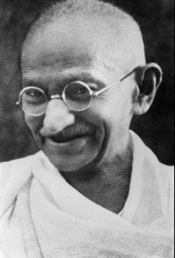 Mahatma Gandhi wikipedia image in the public domain. https://en.wikipedia.org/wiki/Mahatma_Gandhi