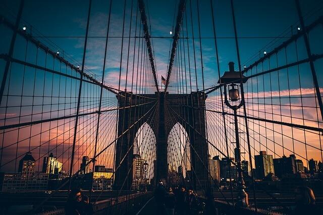 גשר ברוקלין - ירח דבש בניו יורק