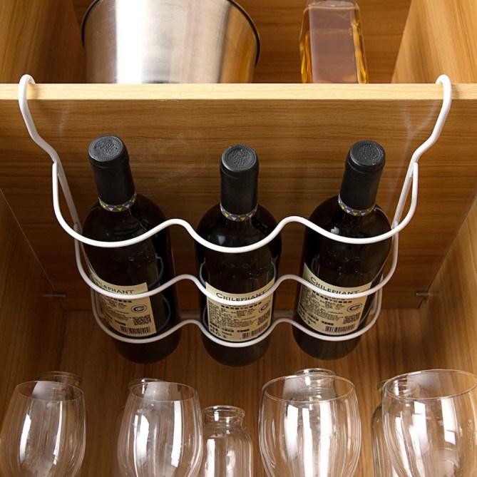 סידור נכון של המקרר - בקבוקים