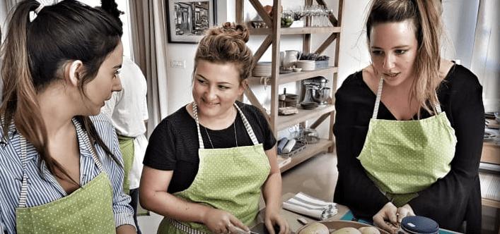 סדנת בישול אוכל יווני