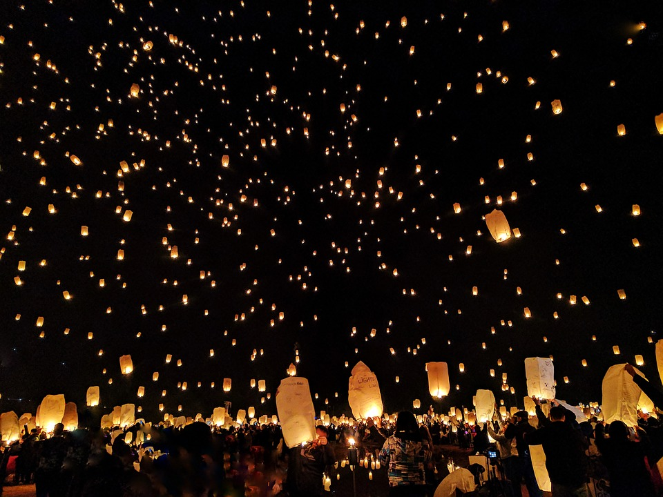 פסטיבל האורות התאילנד - לוי קרטונג בצ'אנג מאי