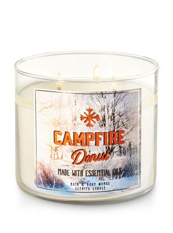 CAMPFIRE DONUT - באת אנד בודי וורקס - נרות ריחניים