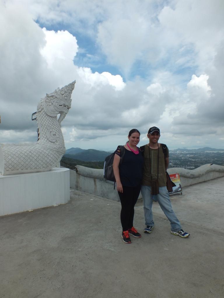 נוף מפסל הבודהה