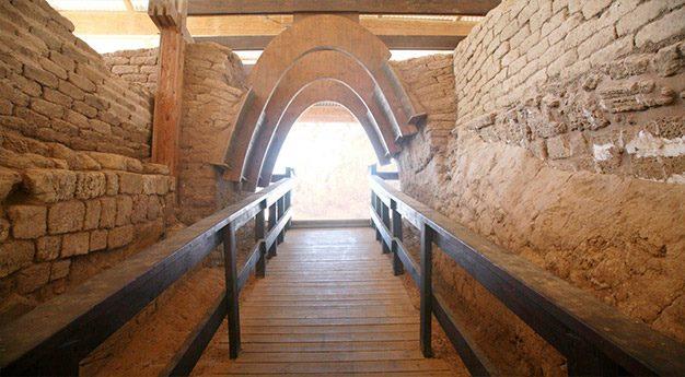 שער עתיק - טיול באשקלון
