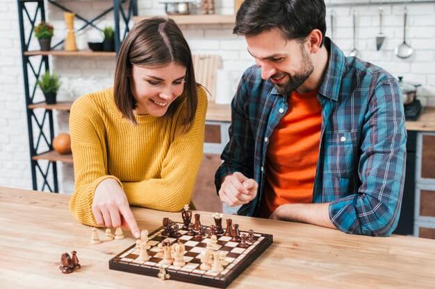 ערב רומנטי בבית - שחמט