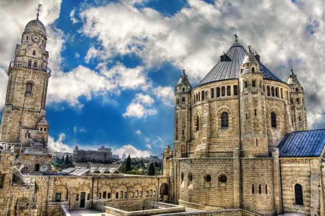 כנסיית דורמיציון - מקומות רומנטיים בירושלים