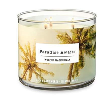 PARADISE AWAITS – WHITE GARDENIA