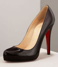Buy Christian Louboutin Rolando Hidden-Platform Pump from Neiman Marcus