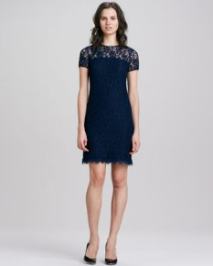 Diane von Furstenberg – Lace Dress with Semi-Sheer-Yoko