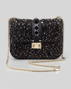 Buy Valentino Small Crystal-Covered Crossbody Bag from Neiman Marcus