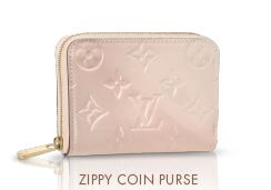 Louis Vuitton Zippy Coin Purse in Rose Angelique