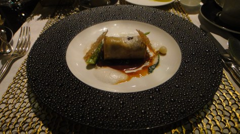 Joel Robuchon - Le Bceuf (beef cheeks braised with red miso and ginger)
