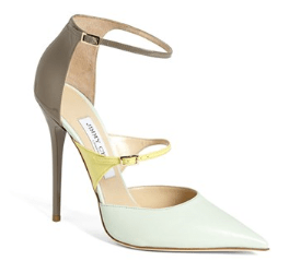 Jimmy Choo Typhoon Ankle Strap Pump