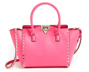 Valentino - 'Small Rockstud' Double Handle Tote