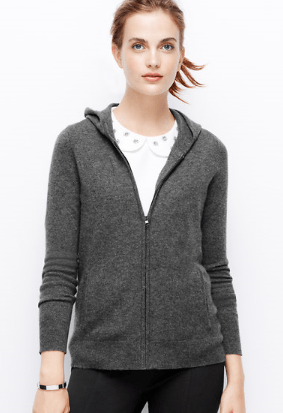 Ann Taylor Cashmere Hoodie