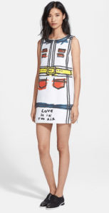 Alice + Olivia Love Is In The Air Shift Dress