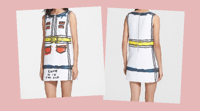 Alice + Olivia Love Is In The Air Shift Dress_Headshot