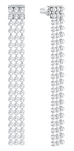 Swarovski Fit Long Pierced Earrings