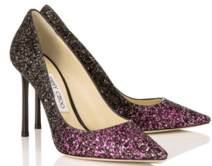 Jimmy Choo Rommy Glitter Pumps