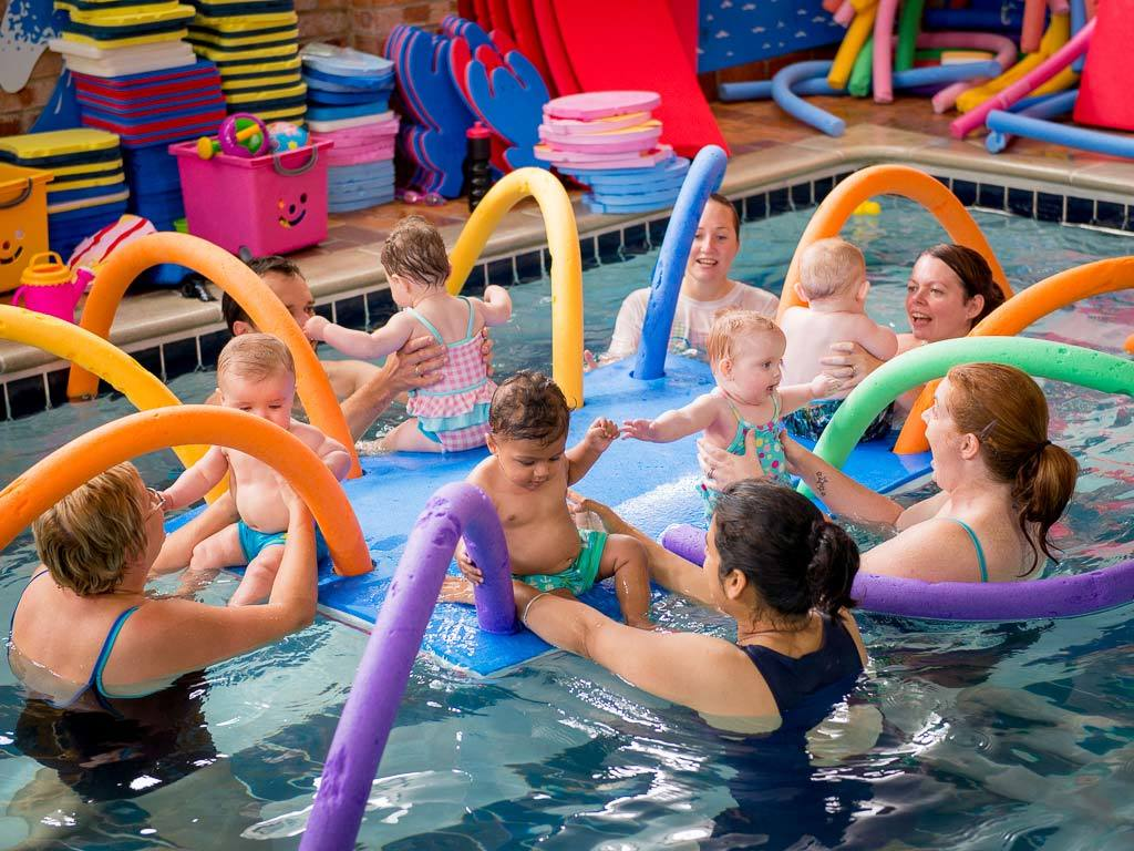 Parent Baby Swimming Lessons Shirley Swimming Pool