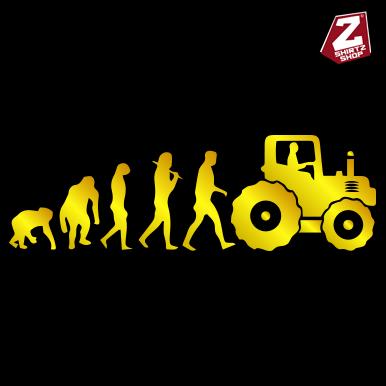 Evolution Traktor in Gold